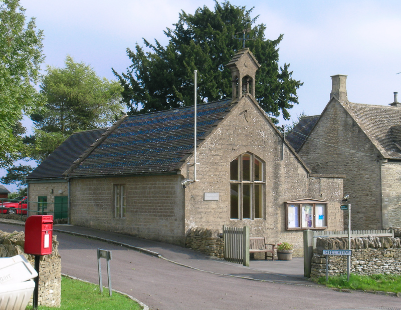 Front View of Village Hall